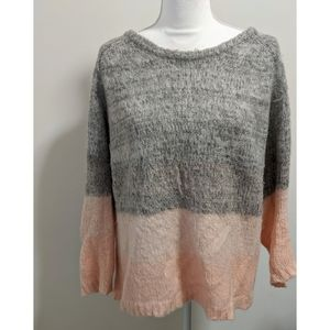kimchi Blue Urban Outfitters Sweater Pink Gray